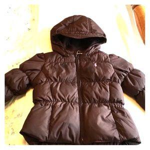 Ralph Lauren 24m puffer coat